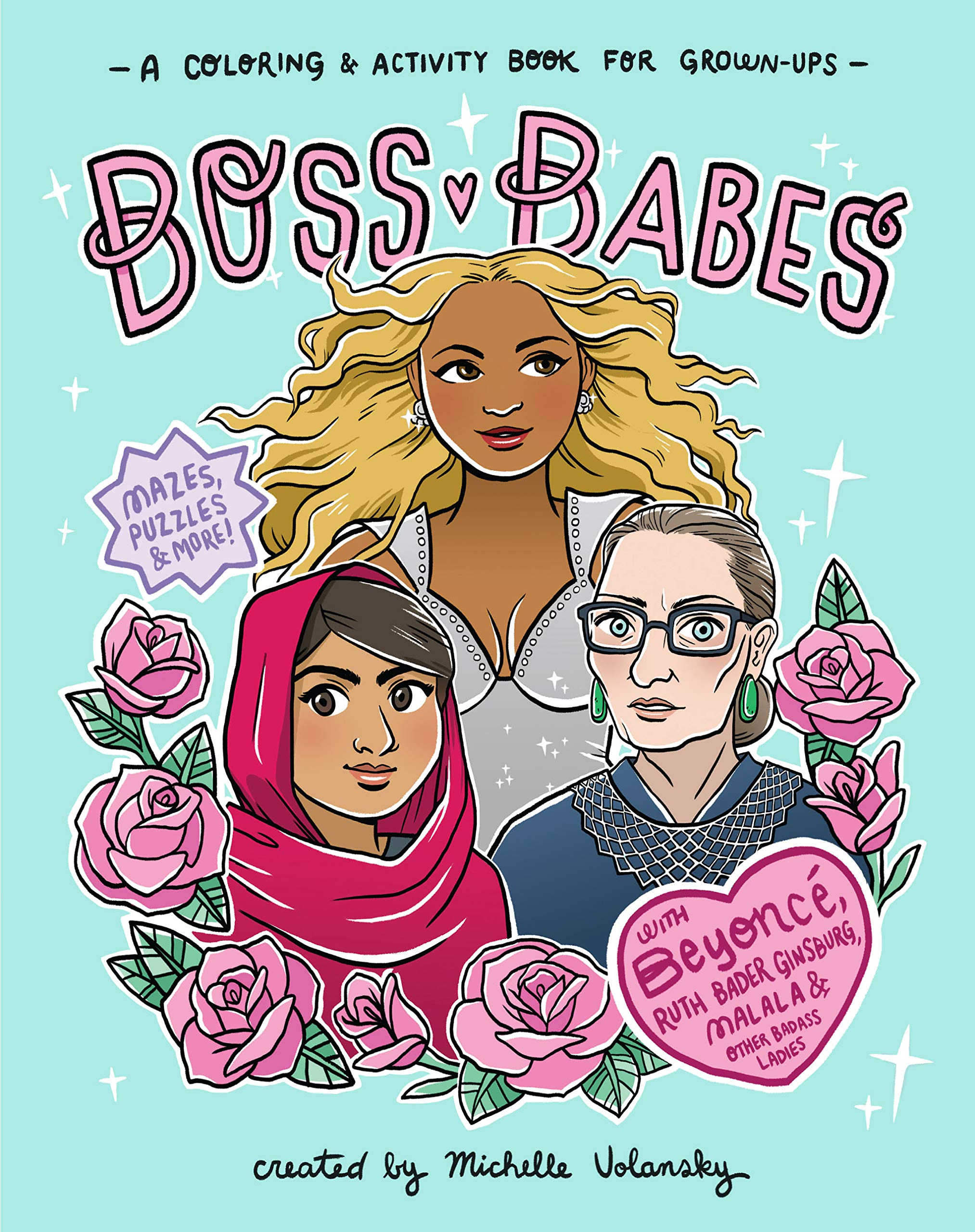 boss babes colouring pages