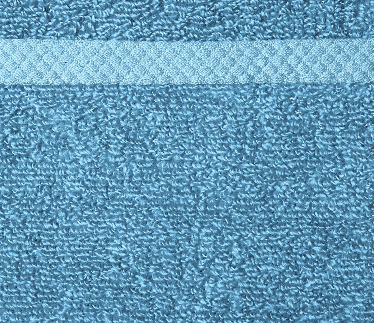 3 Piezas 8 Piezas 8 Piezas Juego de Toallas de Secado r/ápido Color Azul Basics