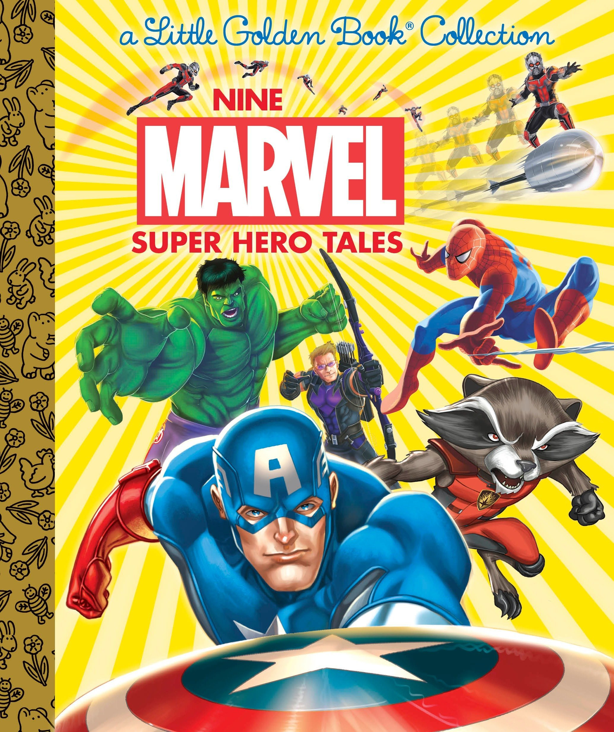 Nine Marvel Super Hero Tales (Inglese) Copertina rigida – 3 gen 2017 Frank Berrios Courtney Carbone Michael Borkowski Golden Books