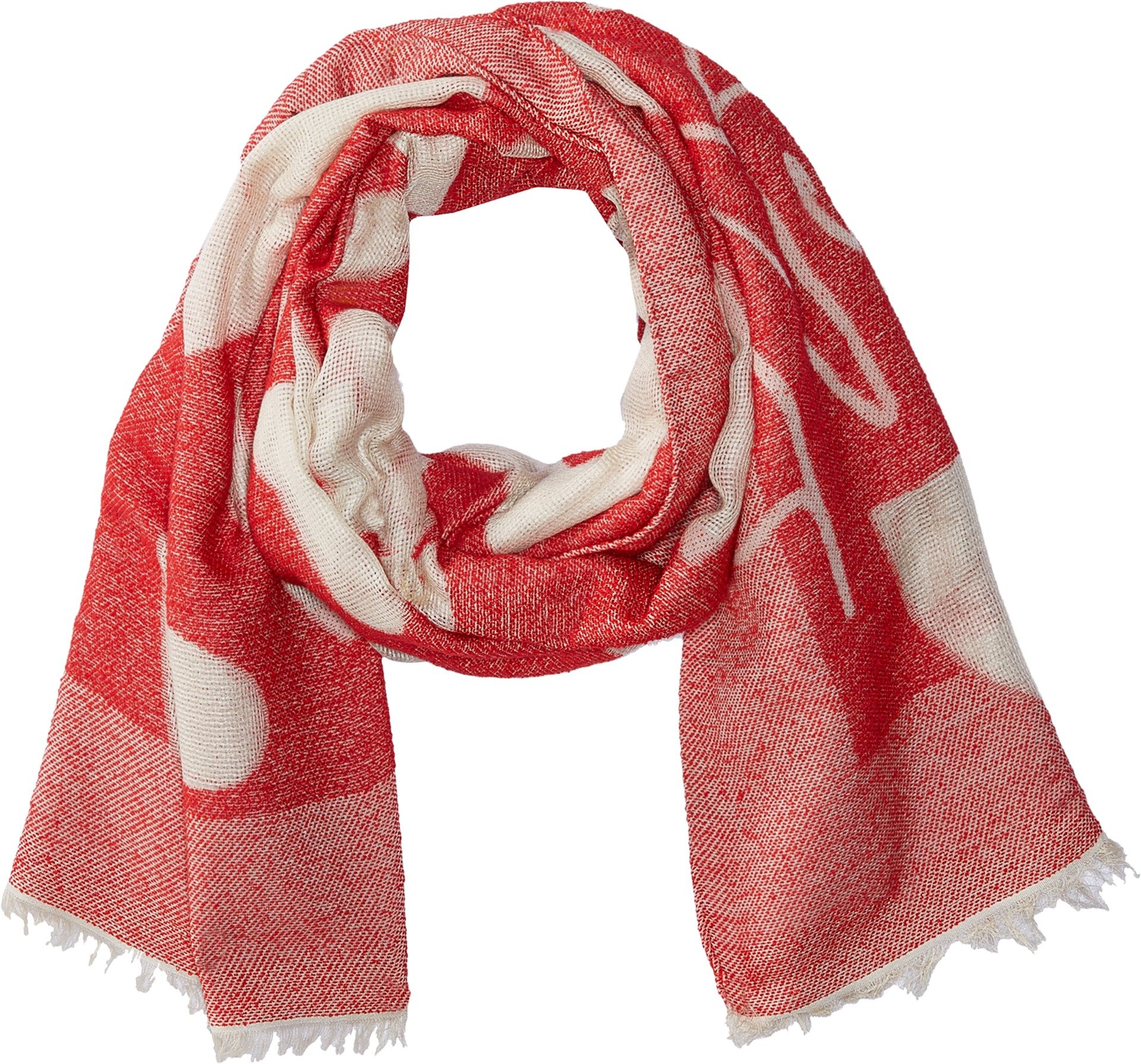 Vivienne Westwood Women's Hearts and Geo Scarf Red One Size