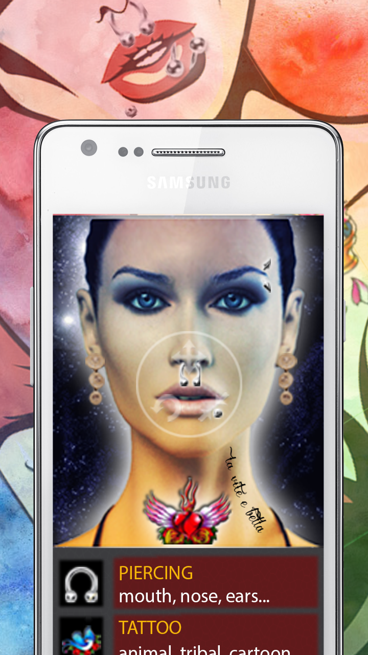 Tattoo And Piercing Photo Montage: Amazon.es: Appstore para Android