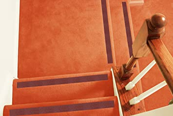 No Slip Strips   Non Slip Treads For Increased Safety On Carpeted Stairs,