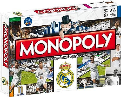 Monopoly Real Madrid 3ª Edicion: Amazon.es: Juguetes y juegos