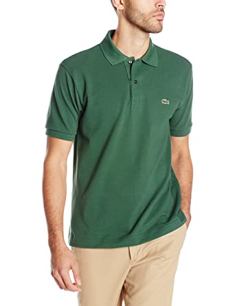 4731dbab02 Lacoste Men's Classic Short Sleeve L.12.12 Pique Polo Shirt
