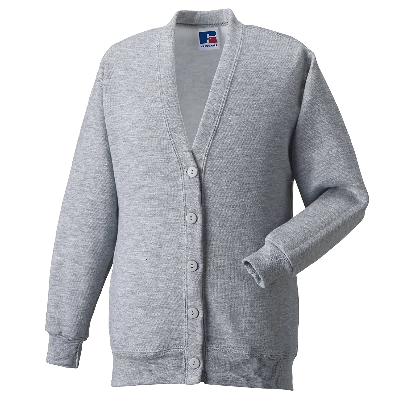 Miss Chief Girls School Cardigan Fleece Sweatshirt Uniform Schoolwear Age 2 3 4 5 6 7 8 9 10 11 12 13 14 Adult Sizes