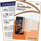 2 x mumbi Displayschutzfolie für LG X Power Schutzfolie AntiReflex matt