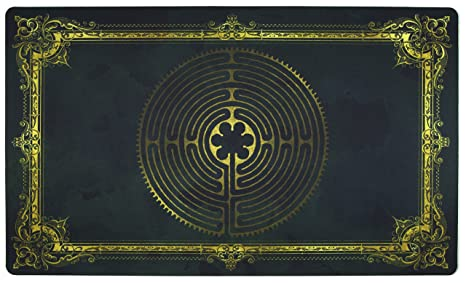 Amazon labyrinth charlemagne playmat inked gaming inked labyrinth charlemagne playmat inked gaming inked playmats perfect for mtg pokemon yugioh magic malvernweather Images