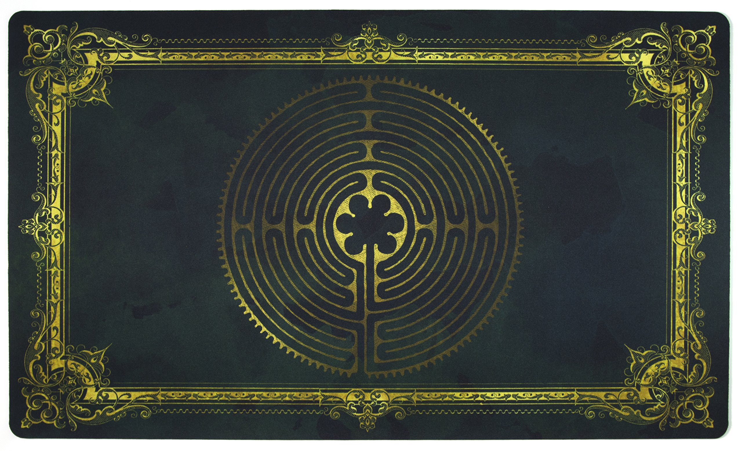 Labyrinth Charlemagne Playmat Inked Gaming - Inked Playmats / Perfect for MtG Pokemon & YuGiOh Magic the Gathering TCG Game Mat