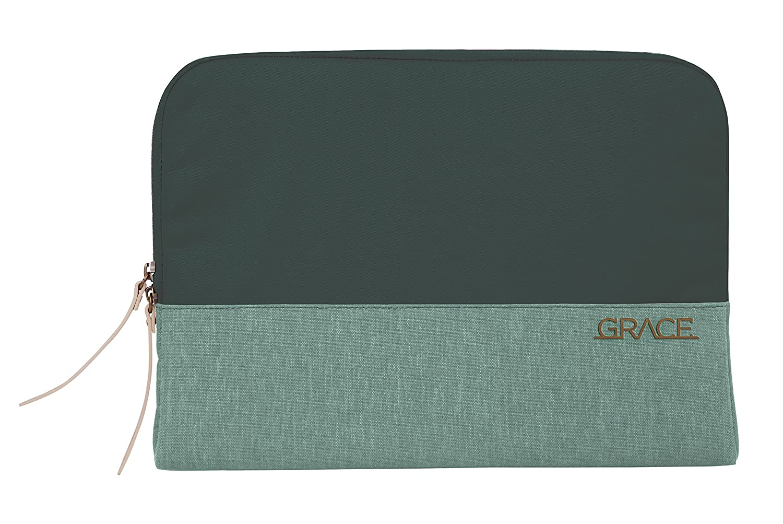 STM Grace, Woman's Laptop Sleeve for 13-Inch Laptop - Hunter Green (stm-114-106M-15)