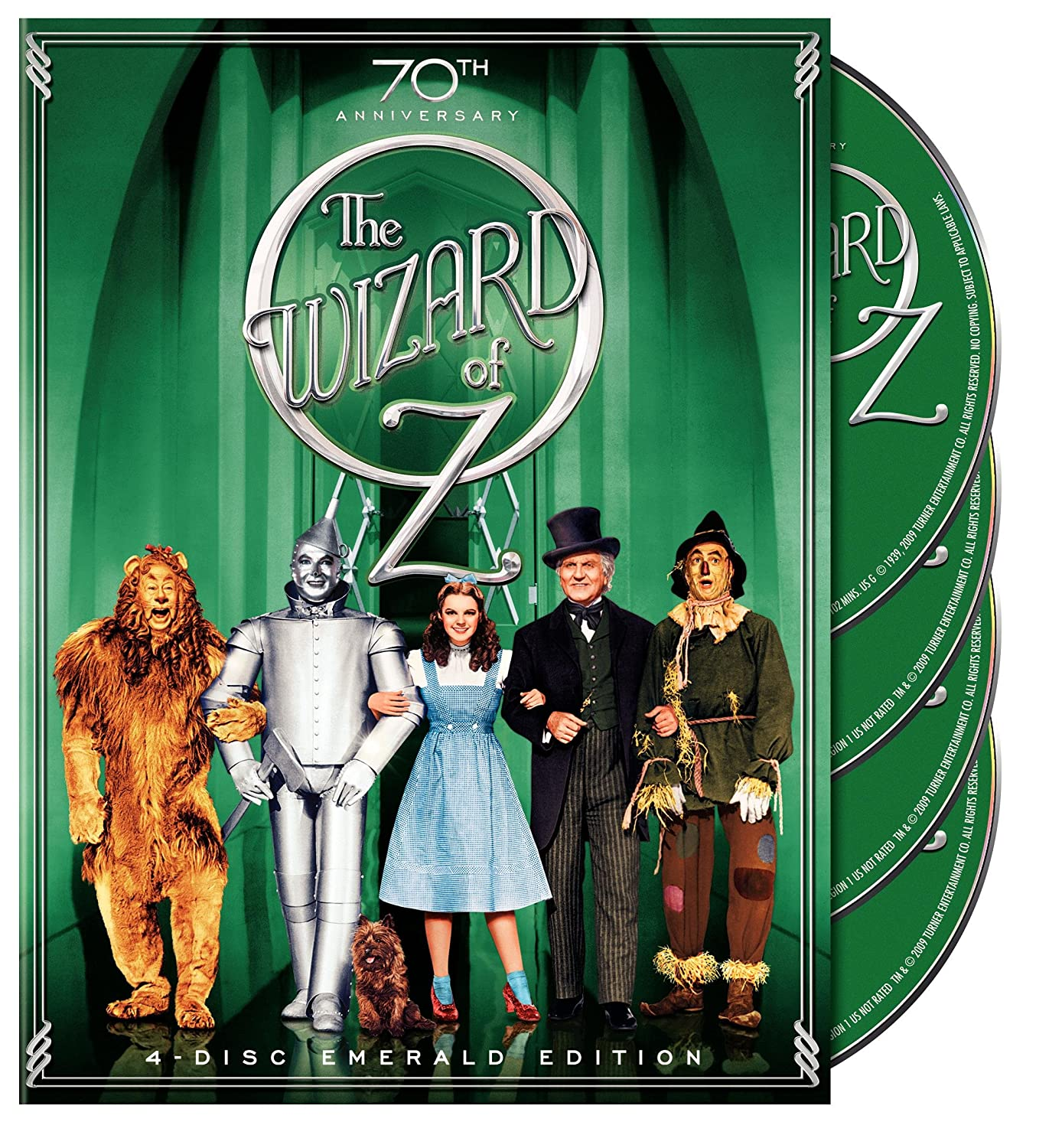 Amazon The Wizard Of Oz Four Disc Emerald Edition Frank