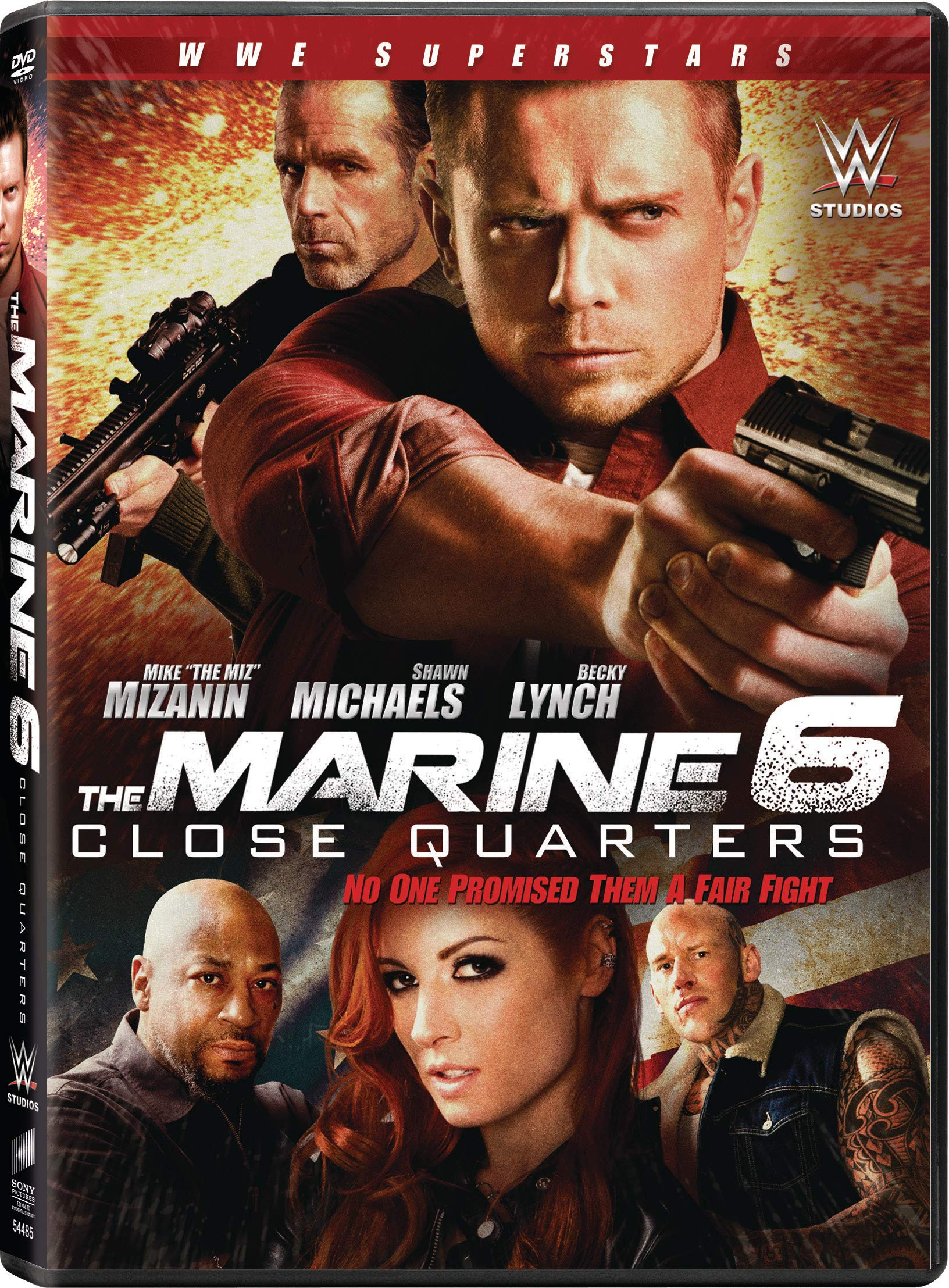 DVD : The Marine 6: Close Quarters (Dolby, AC-3, Widescreen, Subtitled)