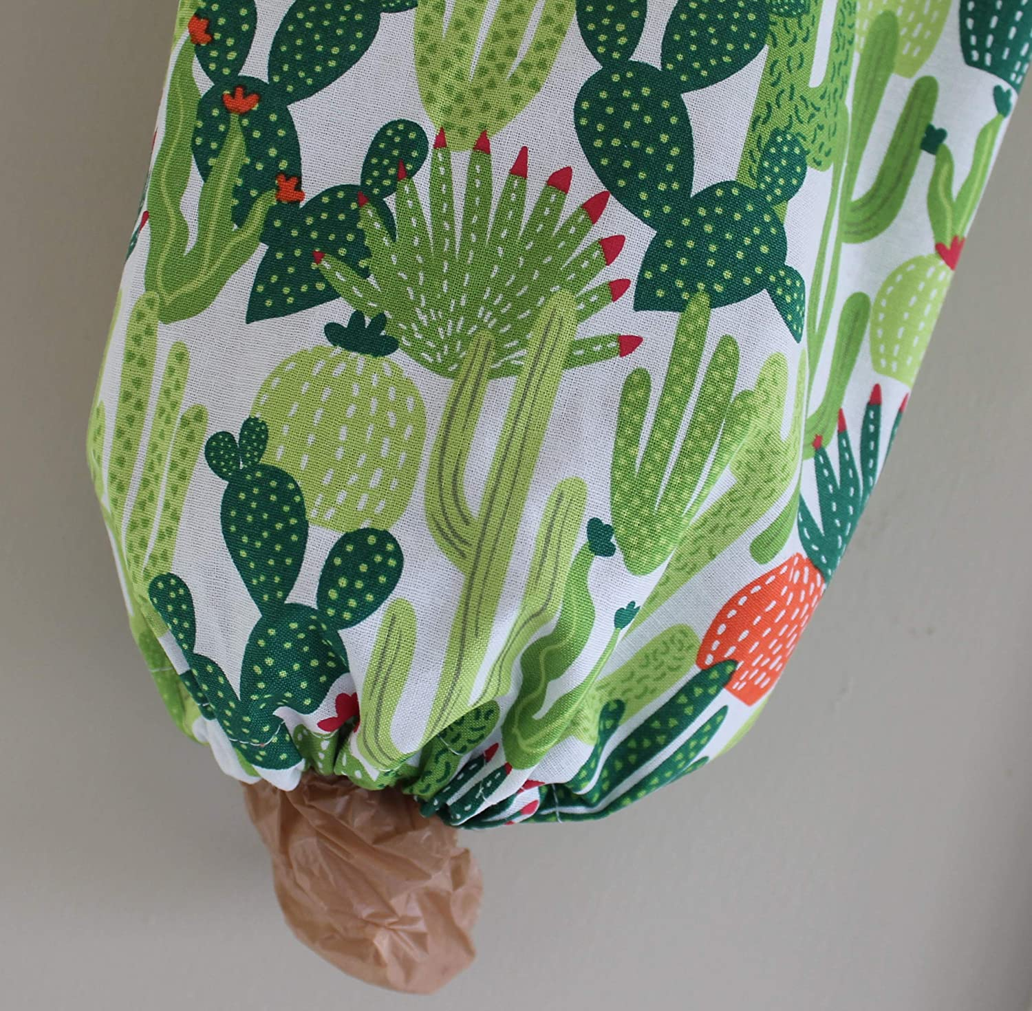Cactus Grocery Bag Holder