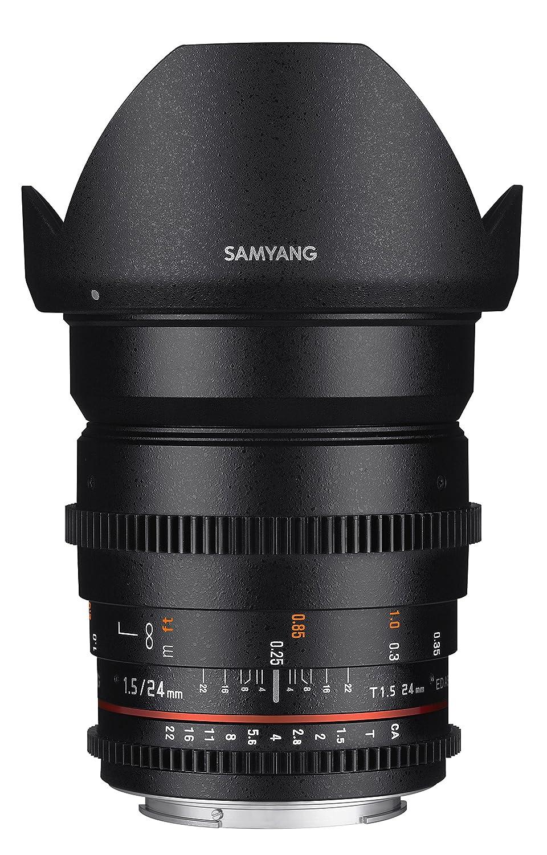 Samyang syds24 m-nex VDSLR II Eマウント24 mm広角レンズ キヤノンEF  B00P9GHCS8