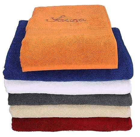 BETZ Toalla sauna toalla de baño toalla de ducha FRANCE 100% algodón 1 toalla de