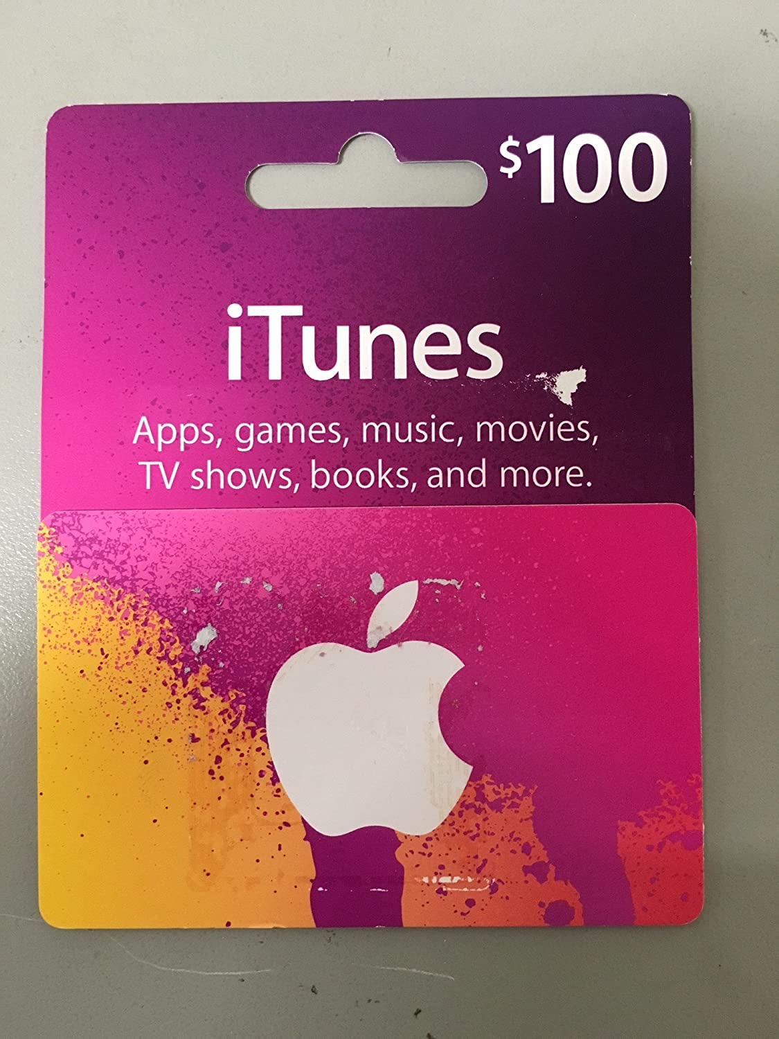 Apple Itunes Card 100 Electronics Gift Us