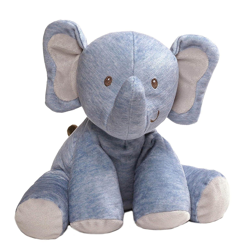 Baby Eager Elephant Plush Toy And Fleece Nursery Blanket