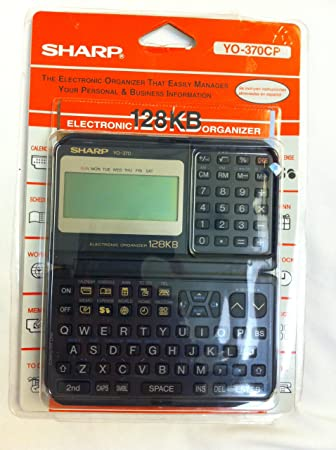 Sharp YO-370 Electronic Organizer Calculator