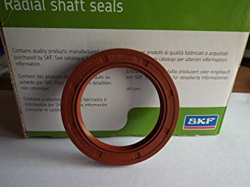 45 x 62 x 7 mm SKF Viton retén de aceite R23/TC doble labio resorte de acero inoxidable: Amazon.es: Hogar