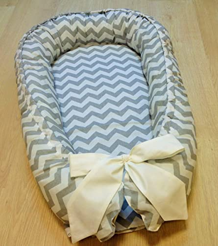 Baby Nest Blue Crib Set Cot Nursery Baby Shower Baby Gift Birthday Gift Cotton
