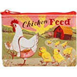 Blue Q Womens Chicken Feed Coin Purse Multi