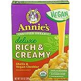 Annie's Vegan Deluxe Rich & Creamy Shells & Vegan Cheddar 10.8 oz