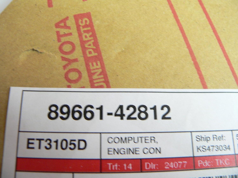 Toyota Rav4 4x2 Engine Computer 89661-42812 Remanufactured