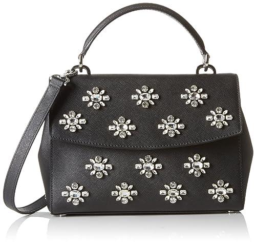 596f201f735a MICHAEL Michael Kors Ava Jewel Small Top Handle Satchel: Michael Kors:  Amazon.ca: Shoes & Handbags