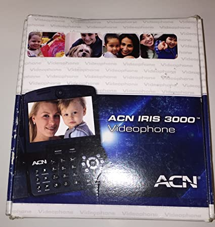 BRAND NEW ACN IRIS 3000 US VOIP Digital Internet Video Phone Complete