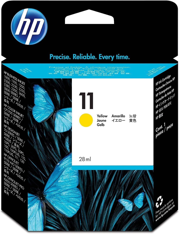 HP C4838A - Cartucho de tinta original Amarillo: Amazon.es ...