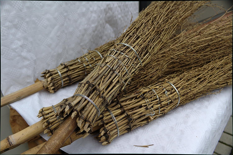 40 Stück Bambus - Besen