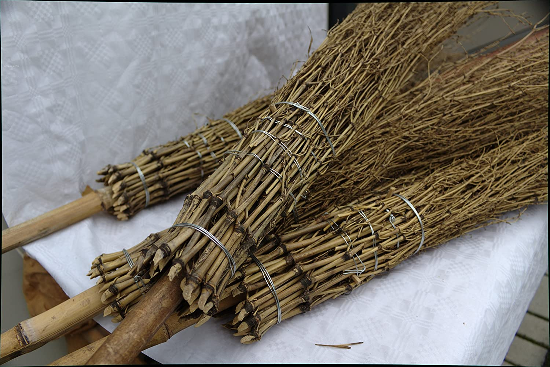 20 Stü ck Bambus - Besen Poppe-Portal