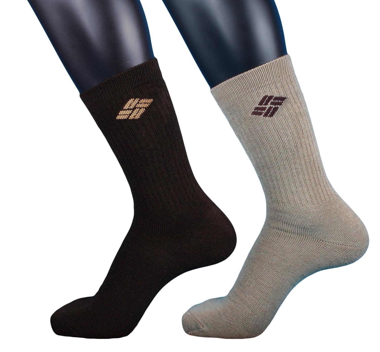 Columbia Explorer-Calze sportive, media, 2 paia di calze