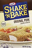 Kraft Shake N Bake Seasoned Coating Mix Box, Original Pork, 5 Ounce