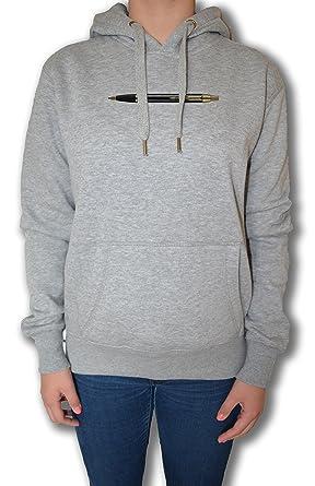 Kugelschreiber Damen Sweatshirt Kapuzenpullover Pullover