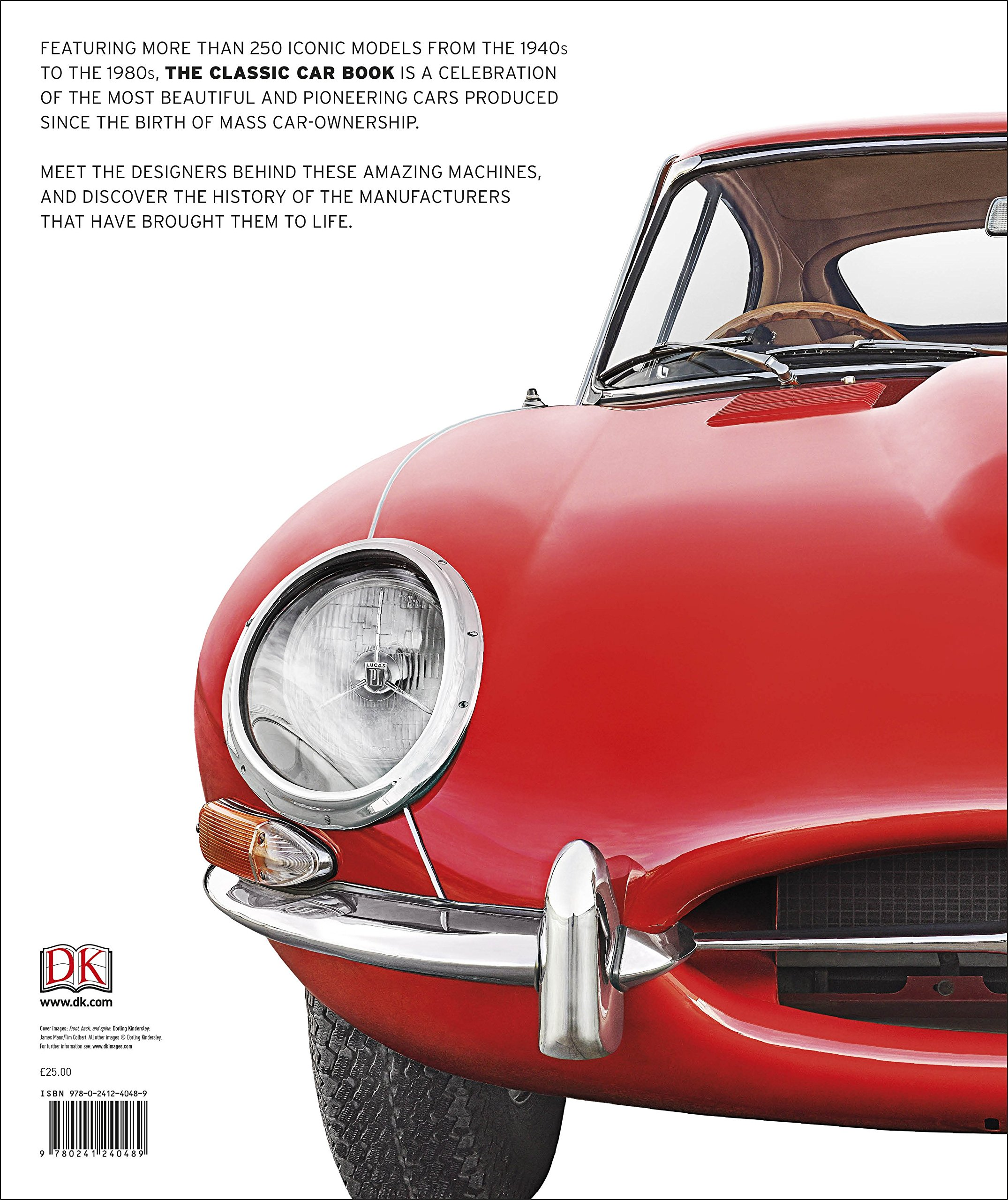 The Classic Car Book: The Definitive Visual History: Amazon.co.uk ...