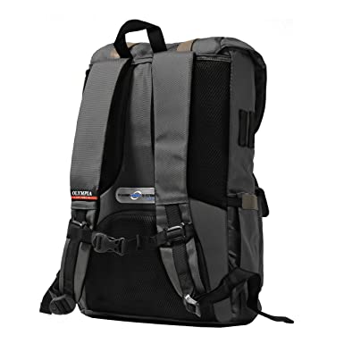 Amazon.com | Olympia Hopkins 18-Inch Backpack GY, Charcoal Gray, One Size | Casual Daypacks