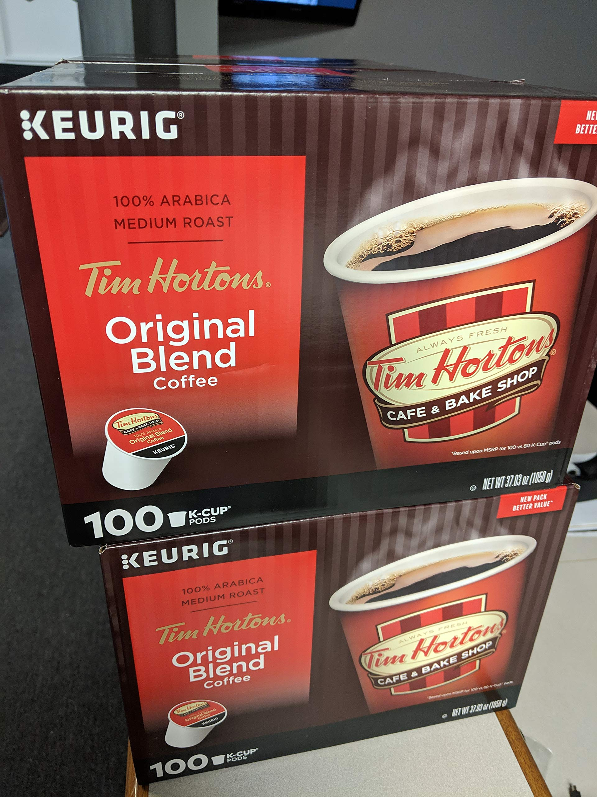 Tim Hortons K-Cup 100count by Tim Hortons