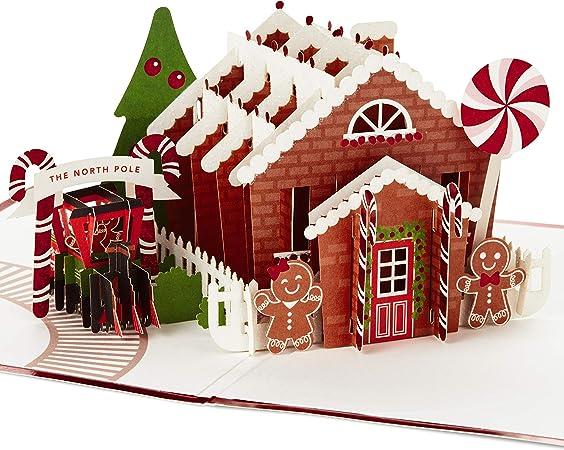 Details about  /SWEET /& ADORABLE 'MERI MERI' 3D GINGERBREAD FAMILY CHRISTMAS CARDS NIB!