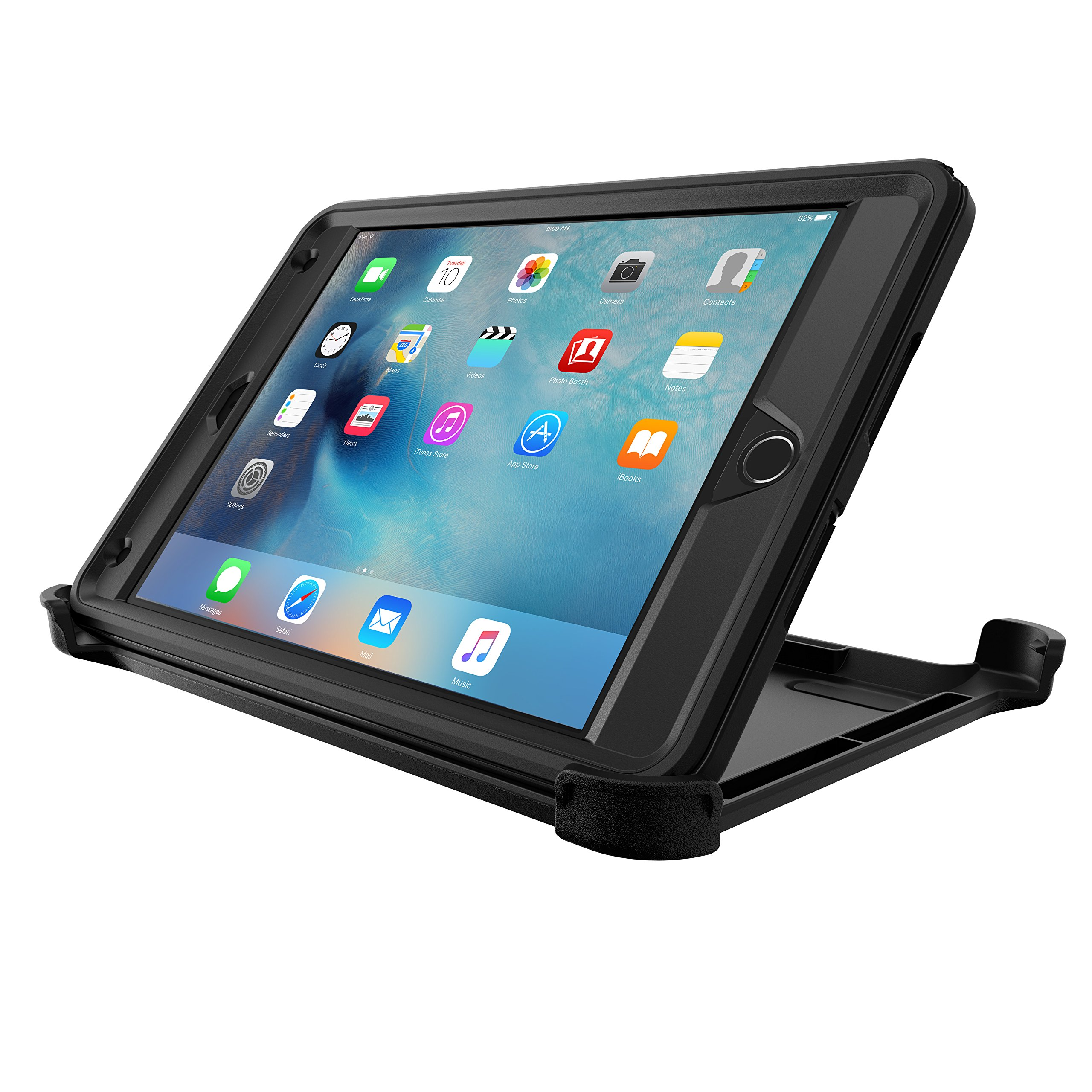 OtterBox DEFENDER SERIES Case for iPad Mini 4 (ONLY) - Retail Packaging - BLACK by OtterBox (Image #6)
