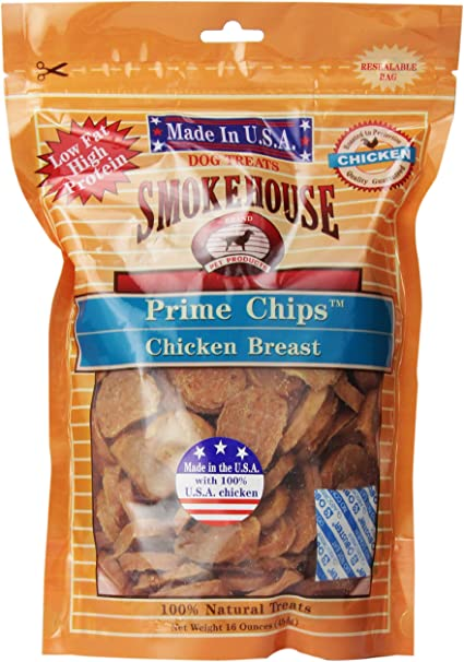 Smokehouse 100-percent Natural Chicken Breast Strips Dog Treats English Manual 4-Ounce by Smokehouse