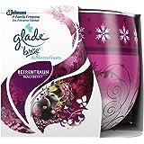 Glade by Brise Duftkerze im Glas, Bis zu 30 Stunden Brenndauer, Fruchtiger Beerentraum-Duft, 3er Pack (3 x 1 Stück)