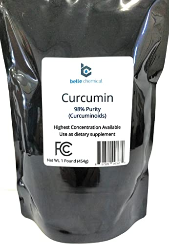 98 Pure Curcumin Powder 98 Curcuminoids 1 Pound