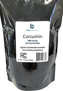 product image for 98% Pure Curcumin Powder (98% Curcuminoids) (1 Pound)