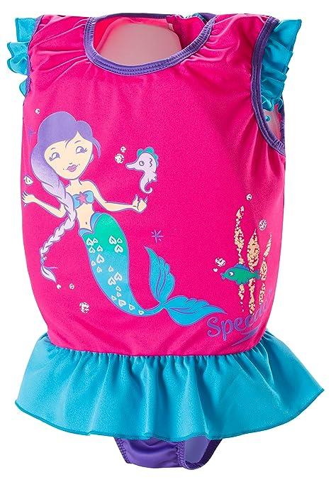 Amazon.com   Speedo Kids UPF 50+ Begin to Swim Polywog Swimsuit ... 621f447bf347