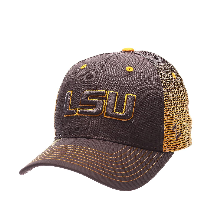 Amazon.com   ZHATS NCAA Clemson Tigers Men s Jolt Trucker Hat ... 369389cc65a3