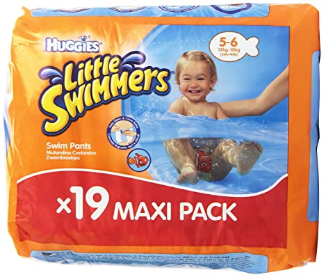 Huggies Little Swimmers - Bañadores Desechables, talla 5-6, 19 unidades: Amazon.es: Amazon Pantry