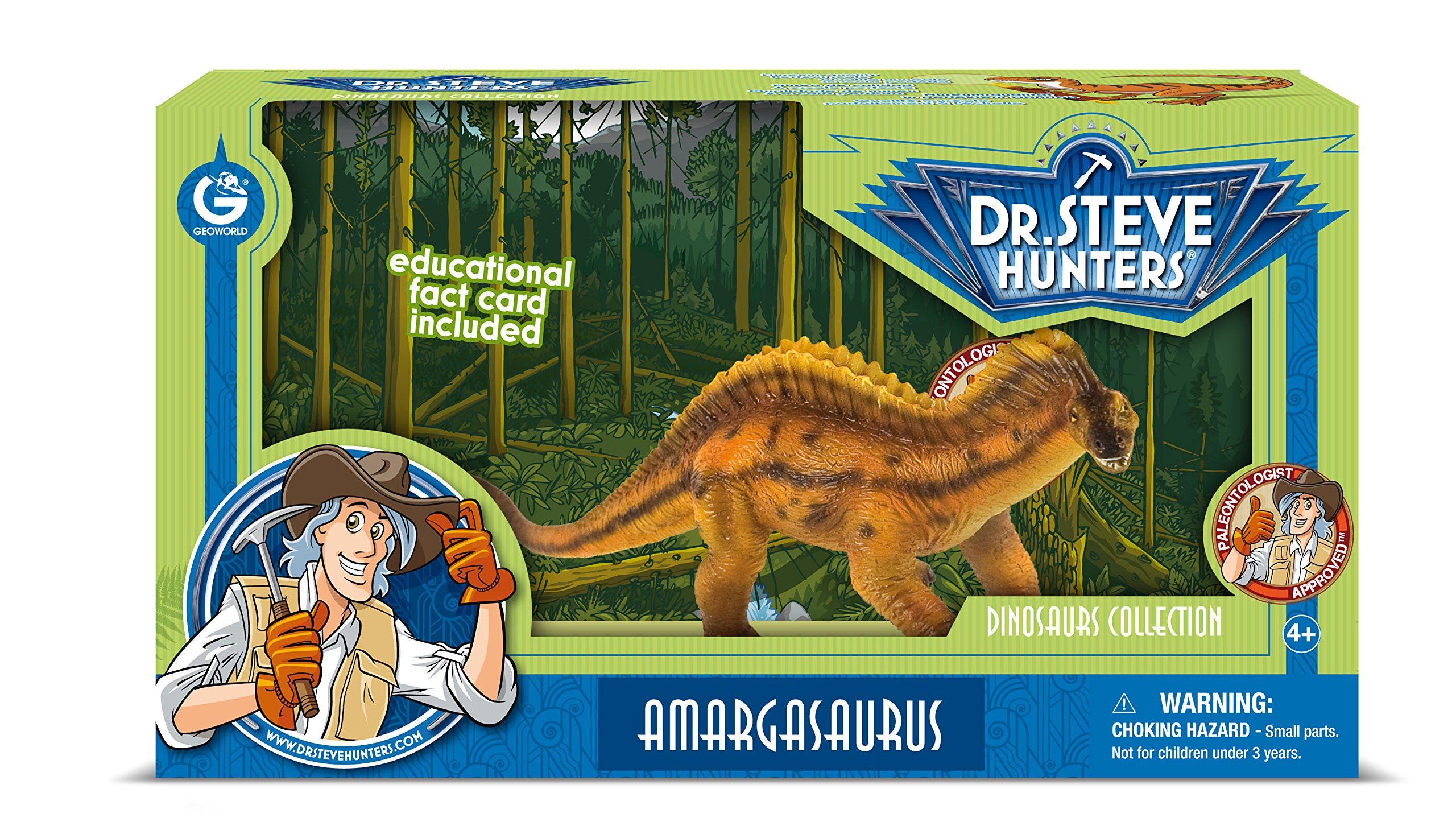 Dr. Steve Hunters cl1560K-Collection of Dinosaurs: Model Amargasaurus