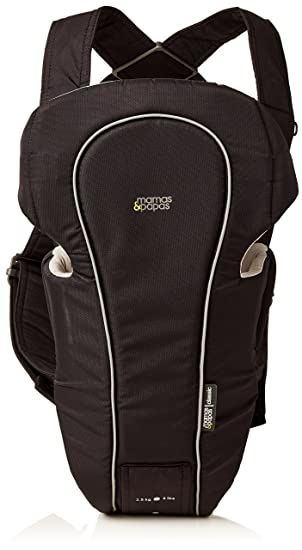 Mamas Papas Classic Baby Carrier Black Baby Sling