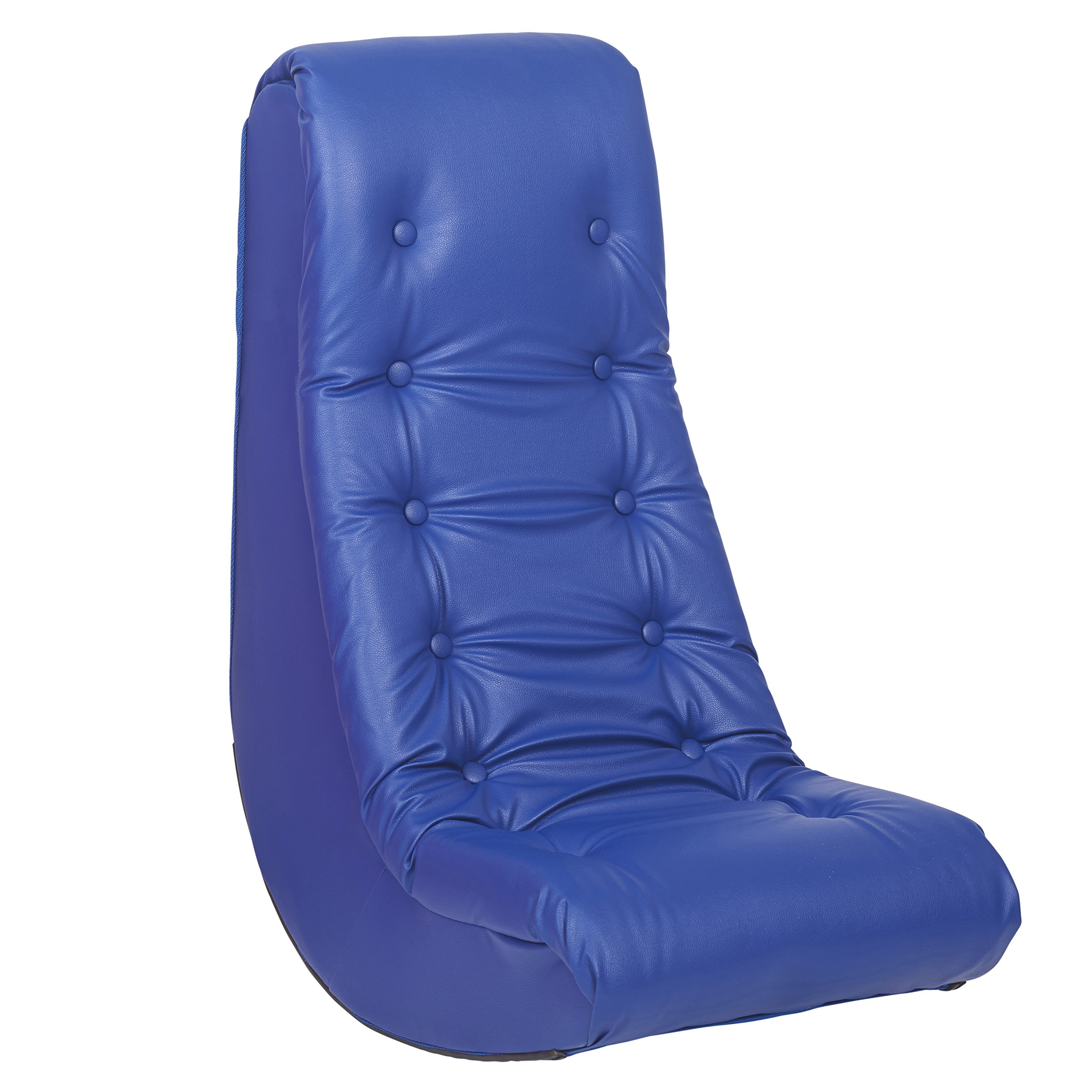 ECR4Kids Soft Rocker Chair, Blue