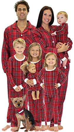 23e262edb9 Amazon.com  SleepytimePjs Women s Lounger Pajama Red Plaid-2X  Clothing